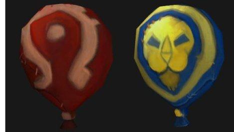Luftballons Horde