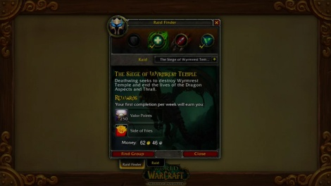 Raid Finder World of Warcraft