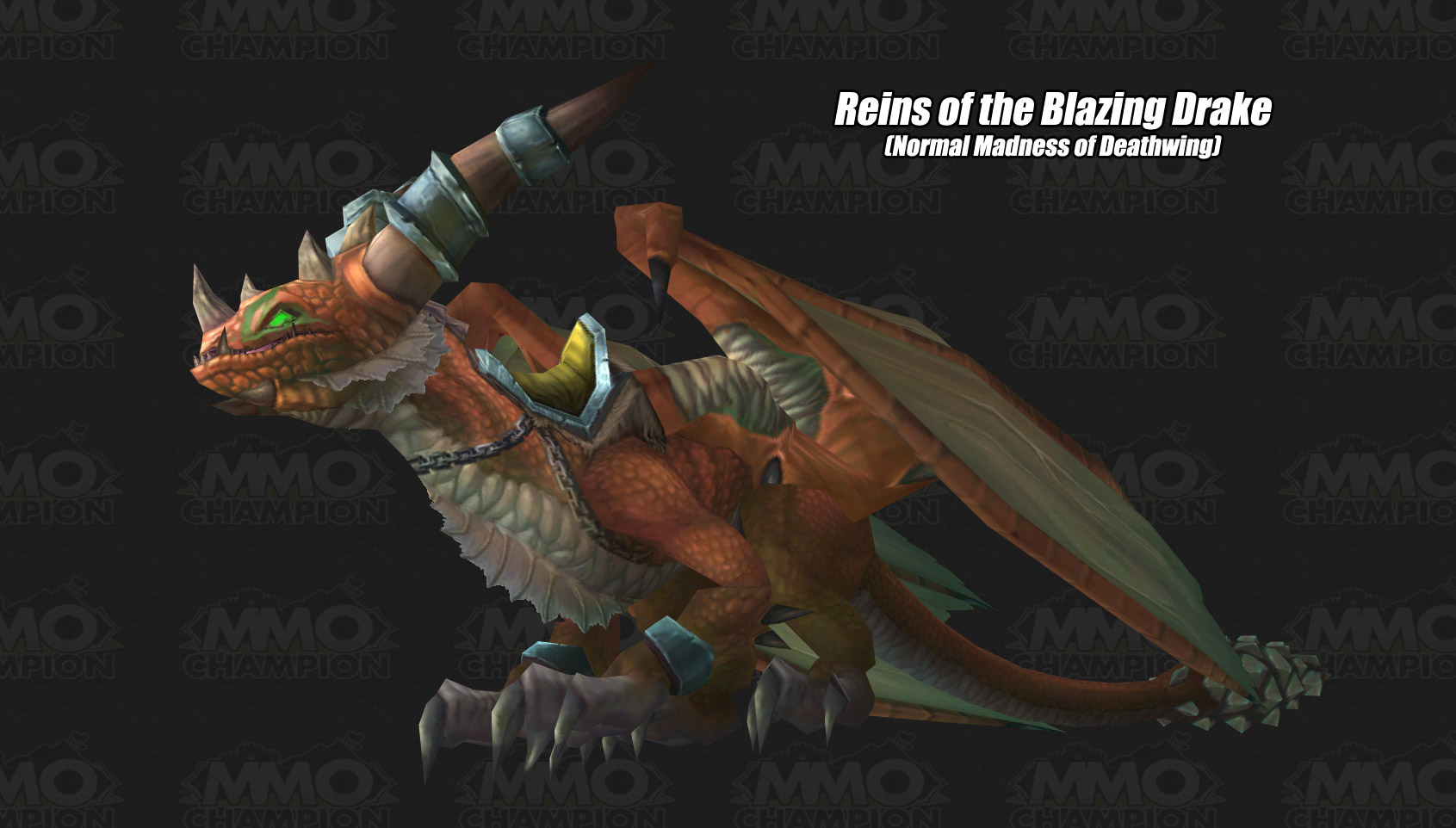 Blazing Hippogryph Mount Wow