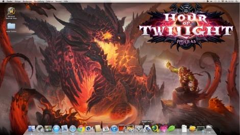 World of Warcraft - Die Stunde des Zwielichts Bildschirmhintergrund