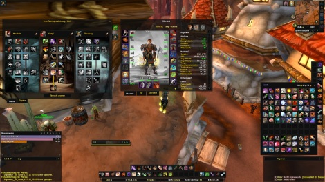 World of Warcraft Duffed UI 6.0
